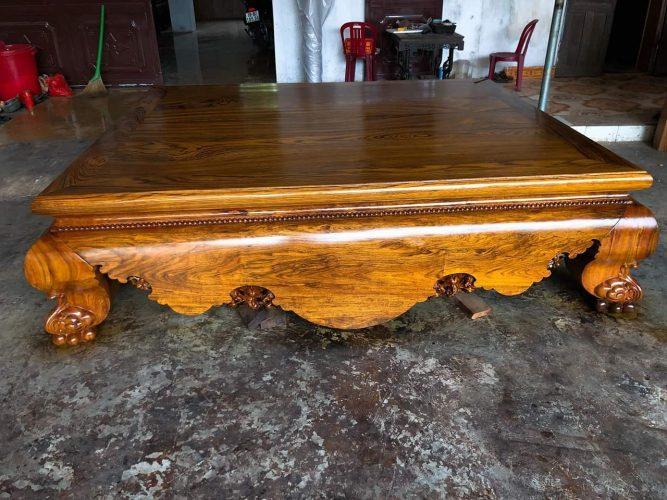Sập gỗ gụ tại Thanh Hóa