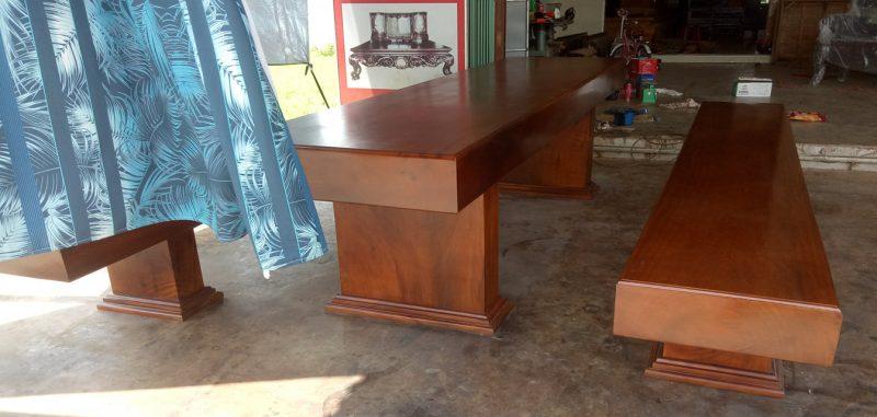 bộ bàn ghế gỗ hiện đại đẹp