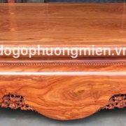 sập trơn gỗ hương đá 1m8 x 2m2