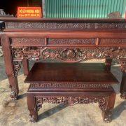 bàn thờ án gian gỗ gụ