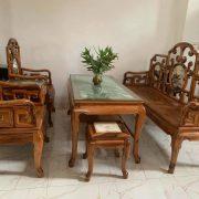 Ghế móc mỏ gỗ gụ ta Quảng Bình
